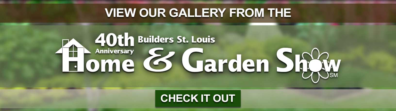Check out the landscaping and hardscaping designs Outdoor Creative Design displayed at the St. Louis Home and Garden Show